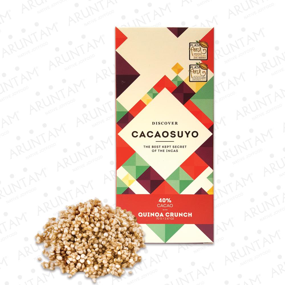 Cacaosuyo Perù Piura Quinoa Crunch